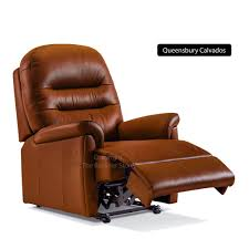Recliner Chair Small Sherborne Keswick Leather Manual Recliner Small Recliners