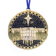 this white house official ornament for 1996 is from the white
