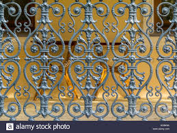 ornamental wrought iron fence stock photos ornamental wrought