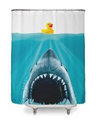 cool shower curtain on threadless
