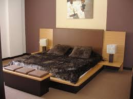 Bedroom  Charming Japanese Bedroom Design With Double White Bed - Japanese bedroom design ideas
