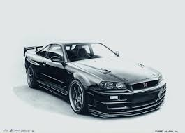 nissan 240sx drawing nissan skyline r32 gt r by mglola on deviantart auto art
