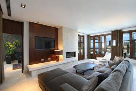 Modern Family Room Decor Design US House And Home Real Estate - Modern family room decor