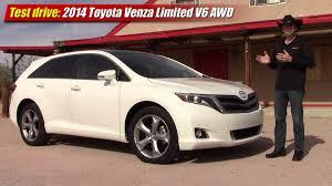 toyota awd 2013 test drive 2014 toyota venza limited v6 awd