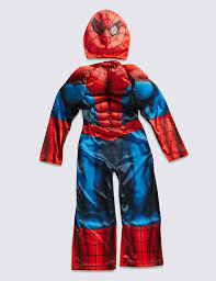 halloween costume spiderman kids u0027 spider man dress up costume m u0026s