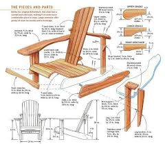 how to build an adirondack chair plans