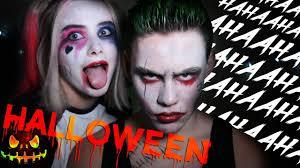 harley quinn u0026 the joker halloween makeup challenge w sniff eesti