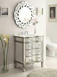 Bathroom Vanity Mirror Bathroom Modern Bathroom Design With Mirrored Bathroom Vanity And