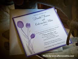wedding invitations malta wedding invitations malta tulips square card 1 side custom wedding