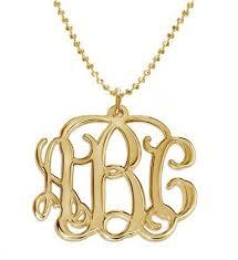 2 Inch Monogram Necklace Monogram Jewelry U2013 Razzberry Fizz
