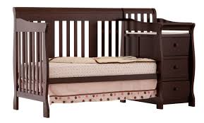 Convertible Crib Bed Rails by Storkcraft Portofino 4 In 1 Convertible Crib And Changer Walmart