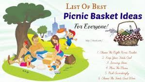 Best Picnic Basket List Of 14 Best Picnic Basket Ideas For Everyone