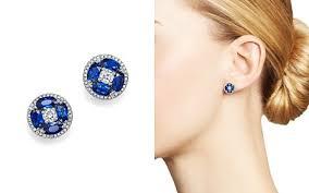blue earrings sapphire earrings bloomingdale s