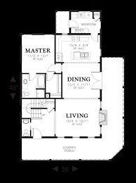 Media Room Plans - mascord house plan 21115 the osprey