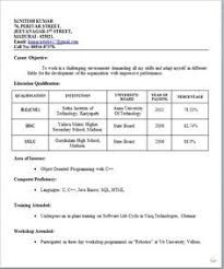format cv best resume format doc resume computer science engineering cv best