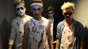 michael jackson thriller halloween cover by the tide youtube