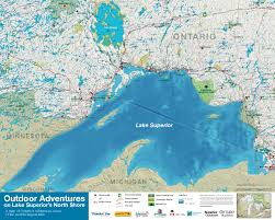 Map Of Ontario Outdoor Adventures On Lake Superior U0027s North Shore By Superior