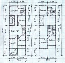 house plans 7m wide ideas designs idolza