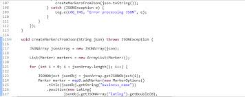 php array map create markers from json array php mysql maps v2 android