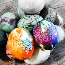 how to color easter eggs tie dyed easter eggs