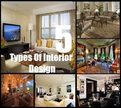 Types Of Design Styles | 5 types of interior design styles decorating styles for home