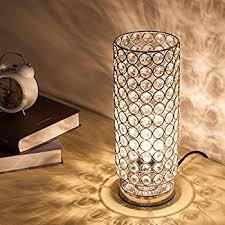 Lamp For Nightstand Zeefo Crystal Table Lamp Nightstand Decorative Room Desk Lamp