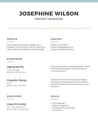 simple resume template blue lines simple resume templates by canva