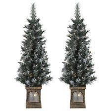 pre lighted trees ebay
