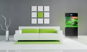 Home Accents And Decor Furniture Contemporary White Couch With Green Accent And Free