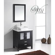Espresso Vanity Bathroom Virtu Usa Ms 4428 S Es Brentford 28 Single Sink Bathroom Vanity In