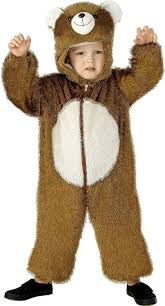 amazon com bear kids costume clothing