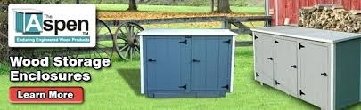 Free Wooden Garbage Box Plans by Garbage Can Storage Shed Garbage Can Storage Shed Kit Outdoor