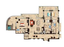 Wet Republic Floor Plan Room Details Luxury Residences At Garza Blanca Preserve Resort U0026 Spa
