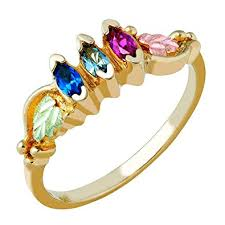 gold mothers rings images Beautiful 10k yellow gold black hills gold mothers jpg