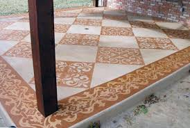 Painting Concrete Patio Slab Concrete Staining Services For Residential U0026 Commercial In