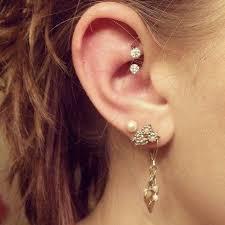 best cartilage earrings 30 best ear piercings tragus piercing helix piercing daith