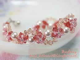 crystal bracelet designs images Bee jang 39 s bead woven crystal bracelet tutorials the beading jpg