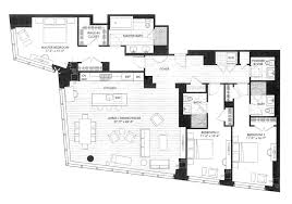 Two Story Condo Floor Plans by Millennium Tower Luxury Condos Boston