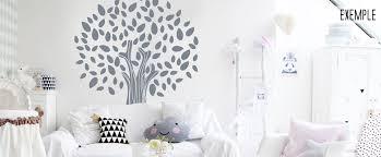 sticker mural chambre fille stickers muraux chambre enfant arbre magique
