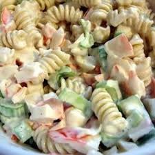 seafood pasta salad recipe allrecipes com