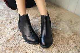 womens boots for flat womens black leather flat ankle boots fashion boots
