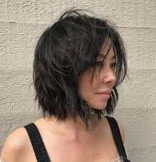 black bob hairstyles 1990 40 short shag hairstyles that you simply can t miss