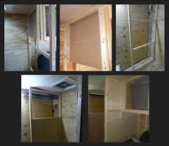 Cargo Trailer With Bathroom My Stealth Cargo Trailer Bathroom Shower Area U0026 Kitchen Shelving