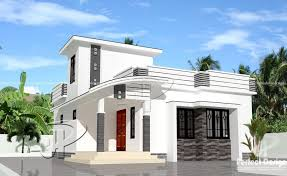 style home designs 2 bhk single floor contemporary style home design at 700 sq ft