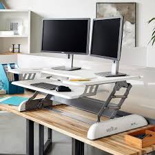 Standing Desk For Desktop Shop Standing Desk Products Varidesk Australia Sit To Stand Desks