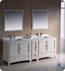 fresca oxford 84 inch transitional bathroom vanity