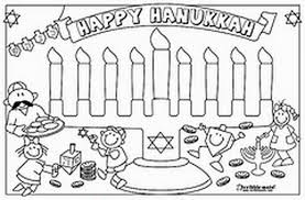 coloring pages hanukkah menorahs get coloring pages
