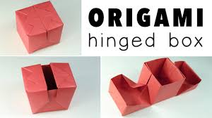 Origami Gift Wrapping Origami Origami Hinged Gift Box Tutorial â Diy â Origami