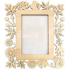cornice legno da decorare 1 cornice rettangolare in legno da rifinire per porta foto 10 x 14