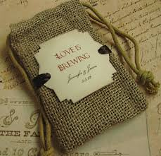 burlap wedding favor bags sandi pointe library of collections